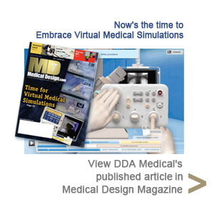 Visit DDA Medical's published article in Medical Design Magazine